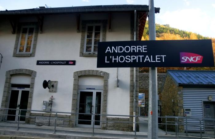 gare Andorre