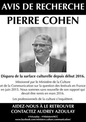 avis de recherche Cohen