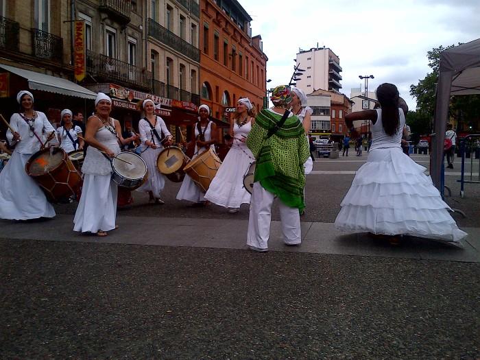danseuses et tambours