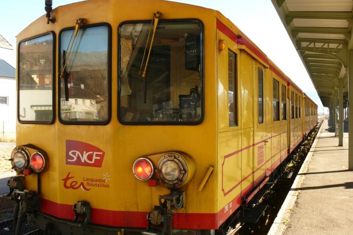 Train jaune 2